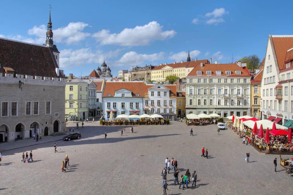 citta di Tallinn estonia
