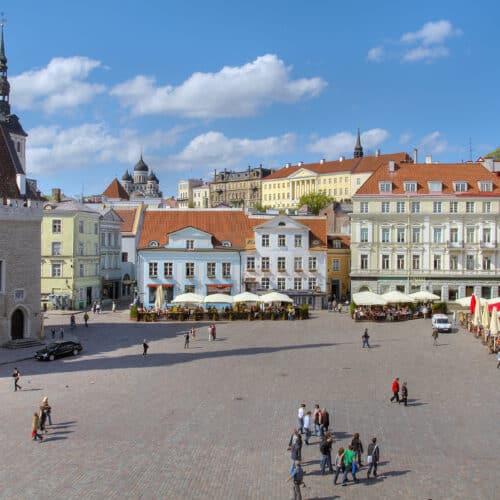 tour repubbliche baltiche citta di Tallinn estonia