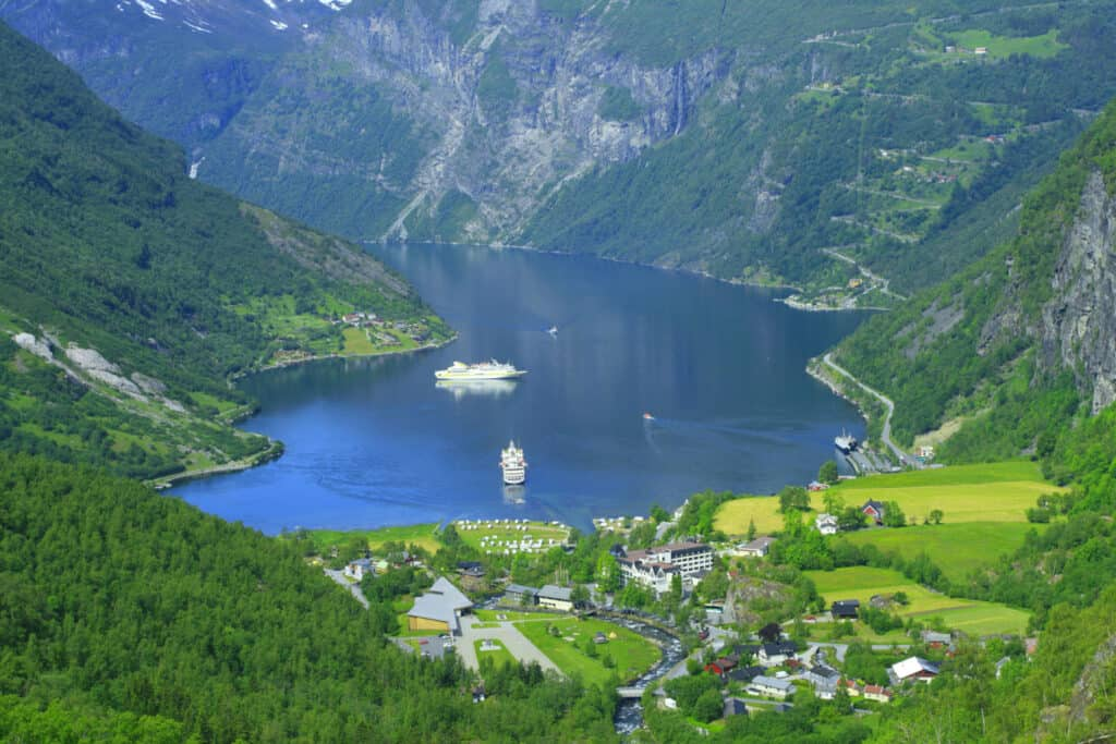tour norvegia e crociera sui fiordi Geiranger