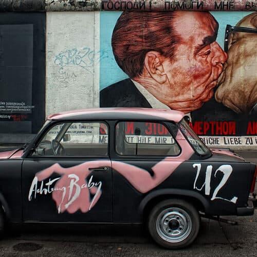 muro di berlino graffito