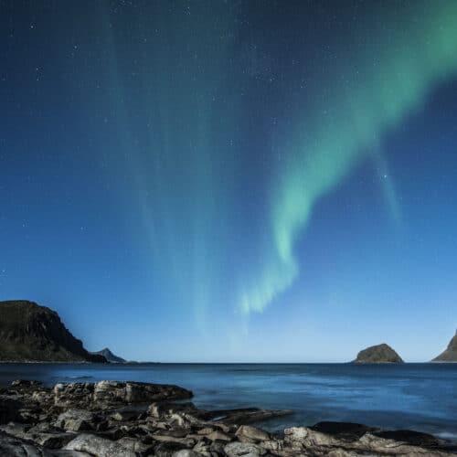 Aloni di Aurora Boreale in Norvegia Nord Europa Tour