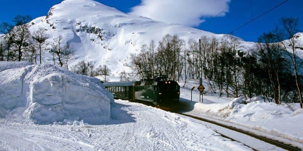 escursione in treno tra le nevi