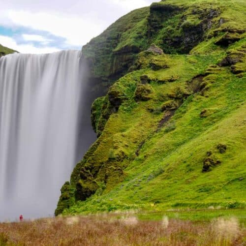 viagigo in islanda vista cascate skogafoss