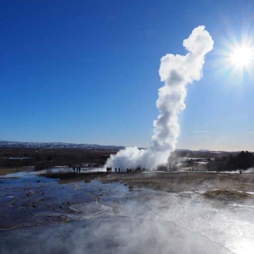 parco nazionale islanda geysir strokkur