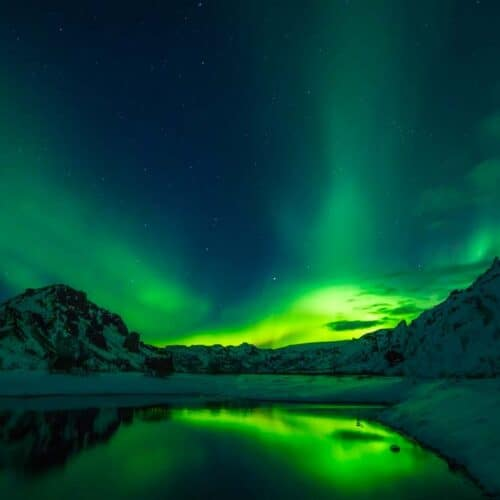 Incontro con l'Aurora Boreale Nord Europa Tour