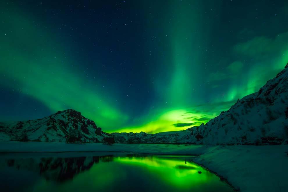 tou rislanda a caccia aurora boreale