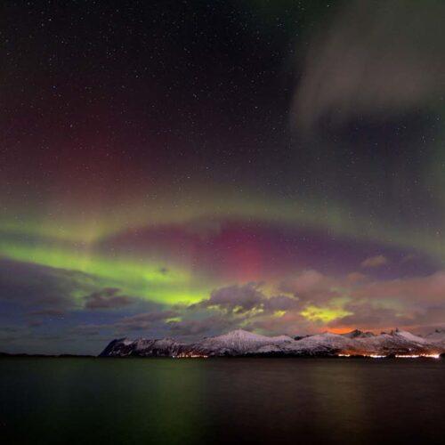 Tromso e l'Aurora Boreale