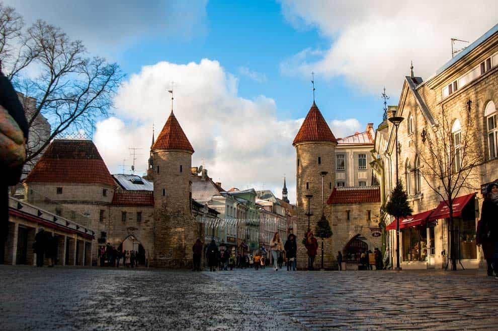 Tallinn città vecchia