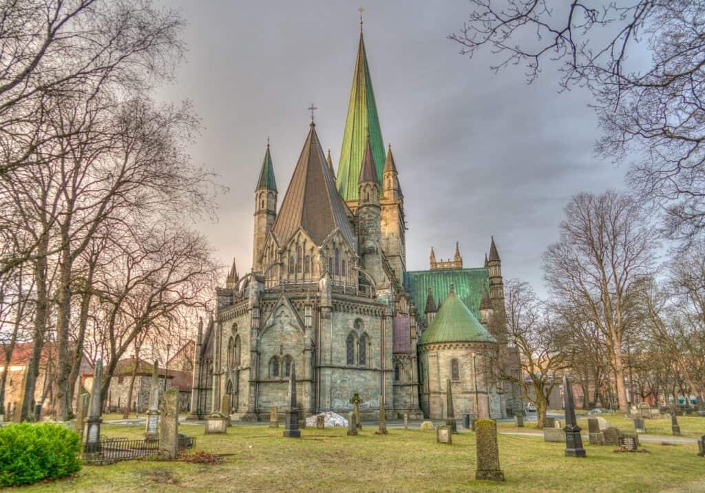 Cattedrale di Nidaros Foto di Michelle Maria da Pixabay