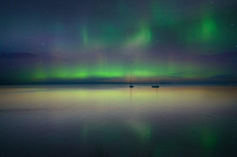 La forma i suoni e i miti dell'Aurora Boreale